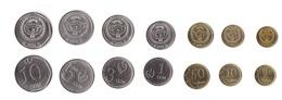 Kyrgyzstan - Set 7 Coins 1 10 50 Tyiyn 1 3 5 10 Som 2008 - 2009 UNC Lemberg-Zp - Kirguistán