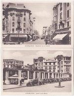 CASABLANCA. 2 Cartes Liberté & Gentil - Casablanca