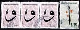 Türkei 2013,Michel# 4055, 3998 O Calligraphy - 1921-... Republiek