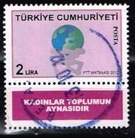 Türkei 2012,Michel# 3935 O The World On The Shoulders Of Men And Women - 1921-... Republiek