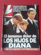 SPAIN REVISTA MAGAZINE LECTURAS EDICIÓN ESPECIAL FOTOS ENTIERRO Y FUNERALES DE DIANA LADY DI PRINCESA VER SUMARIO..VER.. - [3] 1991-Hoy