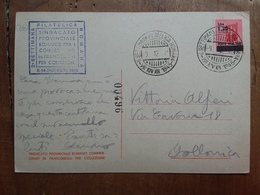 LUOGOTENENZA - Marcofilia - Giornata Filatelica Romana Dicembre 1945 + Spese Postali - 5. 1944-46 Lieutenance & Umberto II