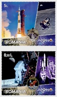 Romania Rumänien Delivery Within 4 Weeks MNH ** Ru 2019 - 36 50 Years Since Man's First Step On The MoonI - Neufs