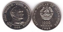 Mozambique - 1000 Meticais 1988 AUNC Lemberg-Zp - Mozambique
