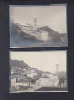 Schweiz 2 Kleinformatige Original Photos Bre Lugano Um 1912 - TI Tessin