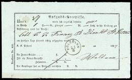 1864, Österreich, Brief - Oblitérations Mécaniques