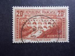 FRANCE YVERT 262C PONT DU GARD OBLITÉRÉS - France
