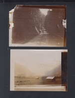 Schweiz 2 Kleinformatige Original Photos Lenk Im Simmental  1907 - BE Bern