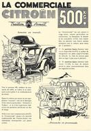 Publicité Automobile - Citroen - Traction Avant - La Commerciale - Publicités