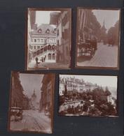 Schweiz 4 Kleinformatige Original Photos Bern  1907 - BE Bern