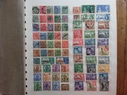 MALTA 1885/1950 - Lotto 75 Francobolli Differenti Timbrati + Spese Postali - Malta