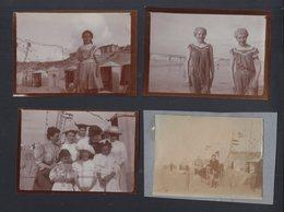 Dt. Reich Lot Kleinformatige Original Photos Juist Um 1908 - Juist