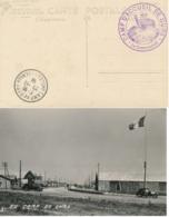 """Cachet """" CAMP D'ACCUEIL DE GURS  """" + CàD Basses Pyrénées 20/11/39 Sur CP Photo Du CAMP - Guerre De 1939-45"""