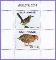 Surinam. Suriname 2014. Birds. Fauna.  MNH - Surinam