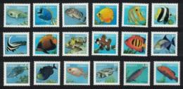 Dominica Fish 18v Definitives 1997 MNH SG#2374-91 - Dominica (1978-...)