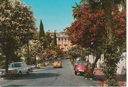 BORDIGHERA - CORSO ITALIA - AUTO D'EPOCA CARS VOITURES : CITROEN 2CV 6 - FIAT 1500 - MINI MINOR - HOTEL - VIAGGIATA 1978 - Autres Villes
