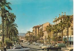 BORDIGHERA - SCORCIO - AUTO D'EPOCA CARS VOITURES : LANCIA FULVIA - MERCEDES - FIAT 600 - VIAGGIATA 1973 - Andere Steden