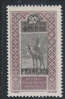 SOUDAN  Type Du Haut Sénégal Et Niger De 1914-17 Surchargé  26* - Nuovi