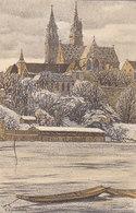 Basel - Signiert Schlatter - Ital. Frankatur - 1912            (P-226-90701) - Illustrators & Photographers