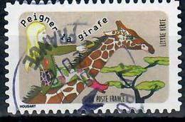 Yt Aa1320-1 Peigner La Girafle Cachet Rond - Oblitérés