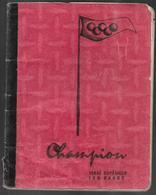 Cahiers Champion , 100 Pages , Plein, Anglais Assez Illustré à La Main Anneaux Olympique Plongeon - Sport