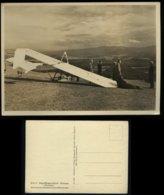 WW II DR Schlesien Postkarte Segelflieger Schule Grunau Riesengebirge: Ungebraucht. - Germany