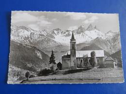 1623 - Environs De ST-JEAN-DE-MAURIENNE  - Les Aiguilles D 'Arves Et L'Eglise De Fontcouverte - Saint Jean De Maurienne