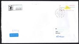 Tschechische Republik 2018  Brief/ Lettre  Europa ; MiNr. 974 Jan Kaplicky   ; Postage International 3.70€ !! - Tschechische Republik