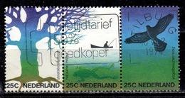 NL+ Niederlande 1974 Mi 1023-25 Naturschutz - Periodo 1949 – 1980 (Juliana)