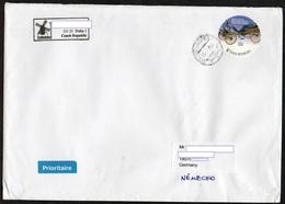Tschechische Republik 2018  Brief/ Lettre  Europa ; MiNr. 973 Personalisiert: Kutsche   ; Postage International 3.70€ !! - Tschechische Republik