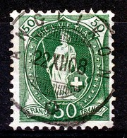 "Mi Nr 92 D - ""ANGLIKON"" - (ref. 1954) - Oblitérés"