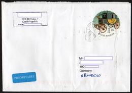 Tschechische Republik 2018  Brief/ Lettre  Europa ; MiNr. 973 Personalisiert: Kutsche - Tschechische Republik