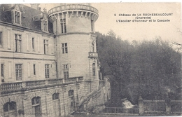 CPA - Larochebeaucourt -  Le Château - L'escalier D'honneur Et La Cascade - Frankreich