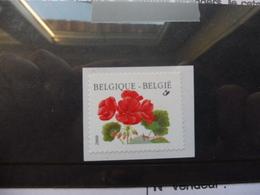 Belgique Fleurs Buzin 2977 ** Année 2001 - Rouleaux