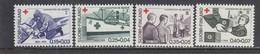 Finland 1964 - Red Cross, Mi-Nr. 589/92, MNH** - Finland