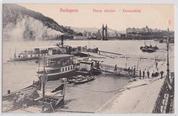 BUDAPEST (Ungarn Hongrie Hungary) - Duna Részlet Donaubild - Hongrie