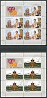 Niue, 1977, Silver Jubilee, Queen Elizabeth, Coronation, Royal, Cancelled Sheets, Michel 171-172 - Niue