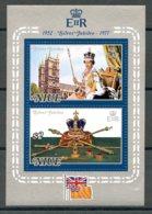 Niue, 1977, Silver Jubilee, Queen Elizabeth, Coronation, Royal, MNH, Michel Block 1 - Niue