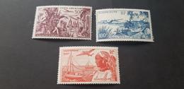Guadeloupe Yvert PA 13-15** - Guadeloupe (1884-1947)