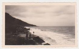 27411 Quatre  Photos 1938 VILLIERS Sur MER FRANCE -jardin Parc Plage - Lieux