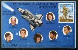 5835 - BOLIVIEN - Block 154 **  (Pfadfinder / Challenger / Boy Scout) - Südamerika