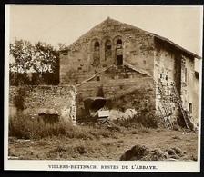 1942  --  VILLERS BETTNACH  RESTES DE L ABBAYE  3S708 - Unclassified