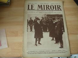Guerre 14.18 Ww 1 Revue Le Miroir Poincare Joffre  Classe En Alsace    Photo - Boeken, Tijdschriften, Stripverhalen