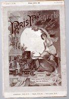(photo)  Revue PARIS PHOTOGRAPHE NADAR 1e Année N°9  (dec1891) - Photographie