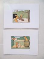 Lot De 5 Cartes Postales / Animaux Illustrateur Benjamin RABIER - Rabier, B.