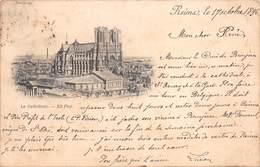 51 REIMS - La Cathédrale 1896 - Reims