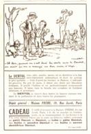 """PUB """"DENTOL """"   Par POULBOT 1927 (24) - Publicités"""
