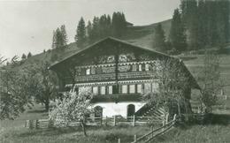 Lenk 1956; Boweehaus In Gutenbrunnen - Gelaufen. (Gyger & Klopfenstein - Adelboden) - BE Berne
