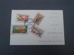 Office National   Des Postes Et Télécommunications De La République Du CONGO 1965 BRAZZAVILLE - Congo - Brazzaville