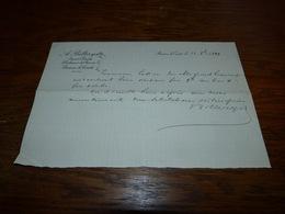 Document A. Bilteryst Expert Chimiste Braine-le-Comte 1899 - Publicidad